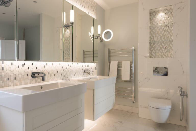 Bathroom Eleven - Luxury Mosaic Master Bathroom