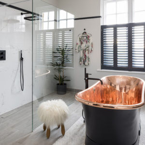 Bathroom Eleven - Master Ensuite in Surbiton Copper Bath