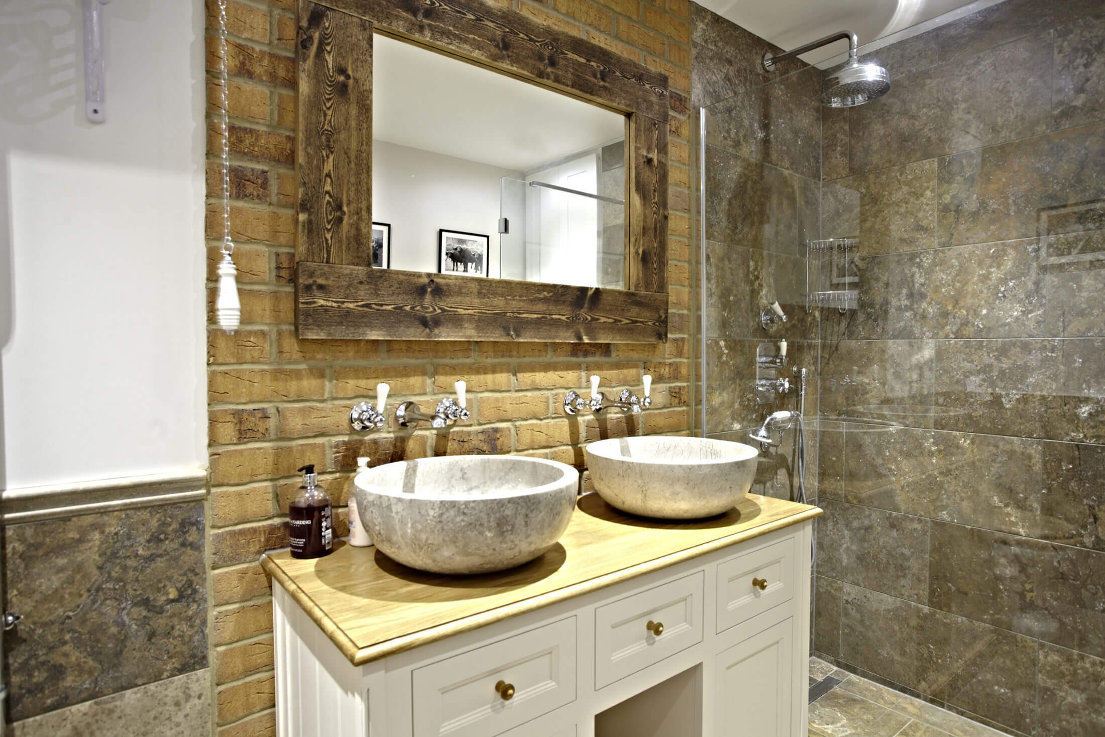 Bathroom Eleven - Country traditional bathroom Wimbledon