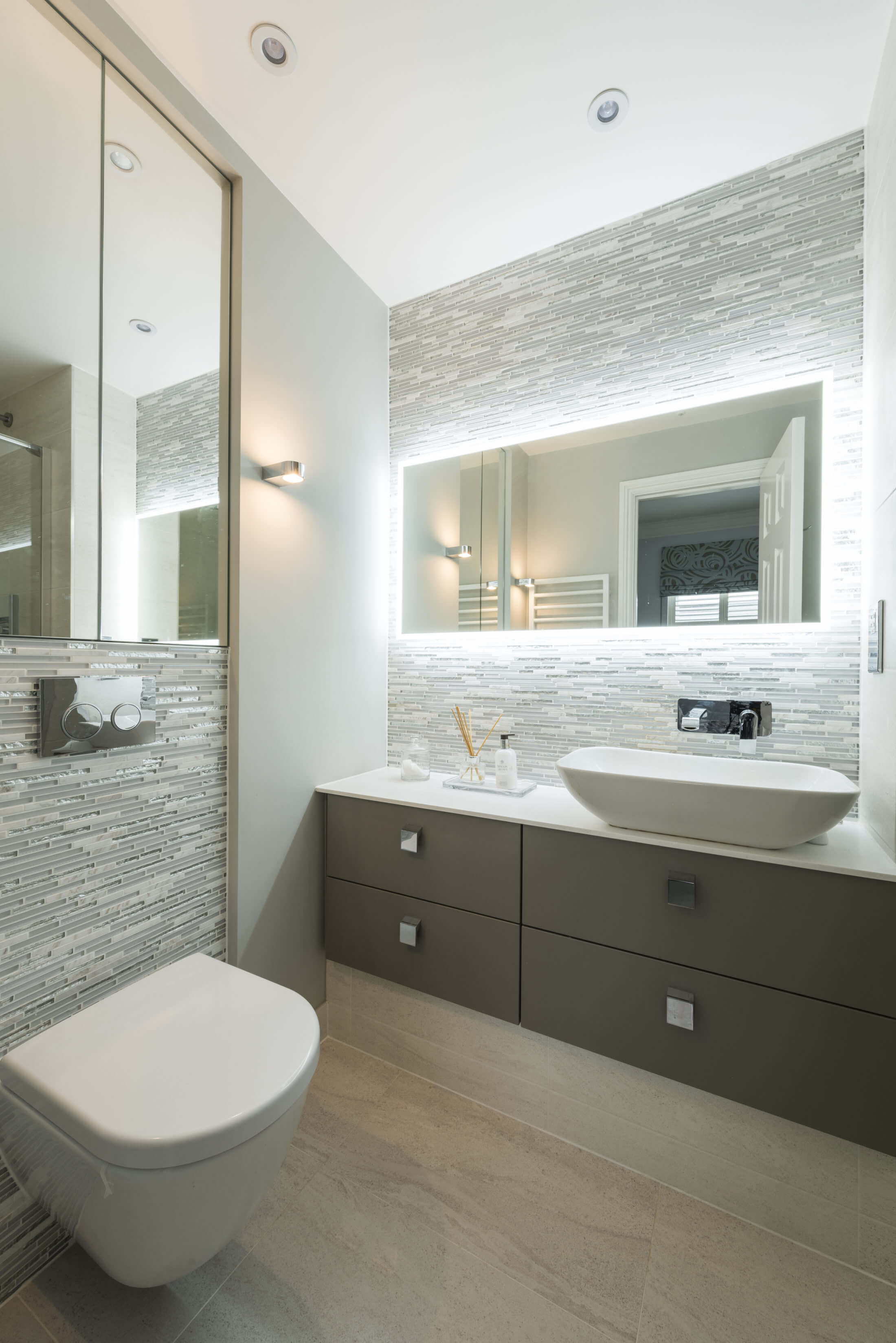 Bathroom inspiration for your luxury bathroom in Long Ditton, Surrey