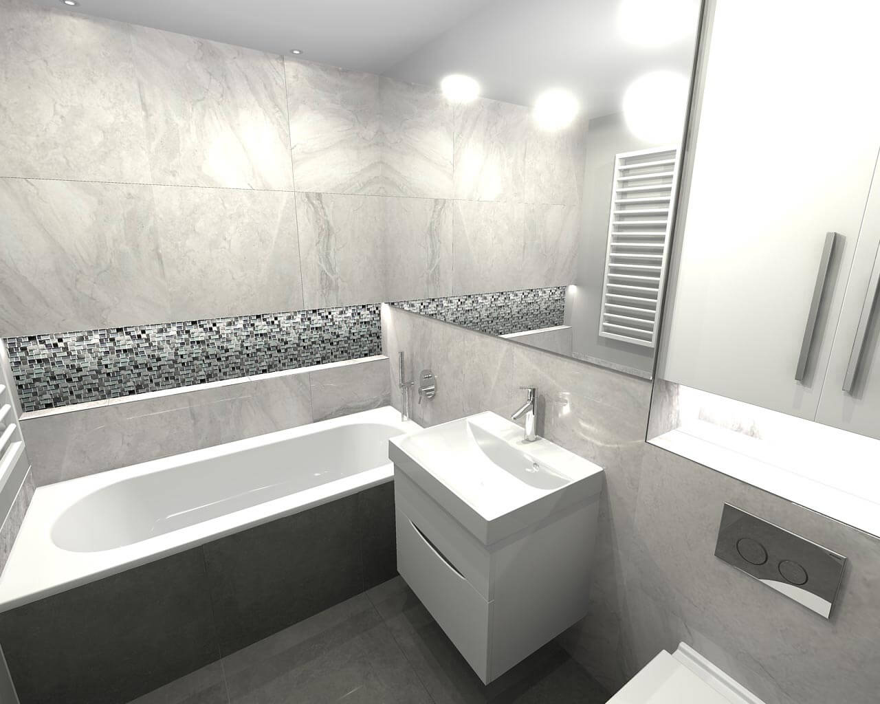 Large and small luxury bathroom design in Long Ditton, Surrey