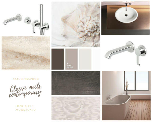 Moodboard for Thames Ditton Bathroom Project