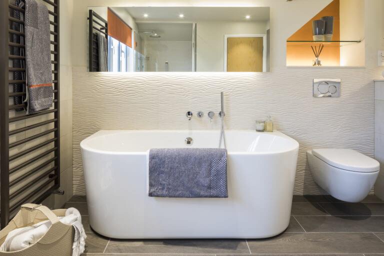Bathroom Eleven - ensuite in Thames Ditton
