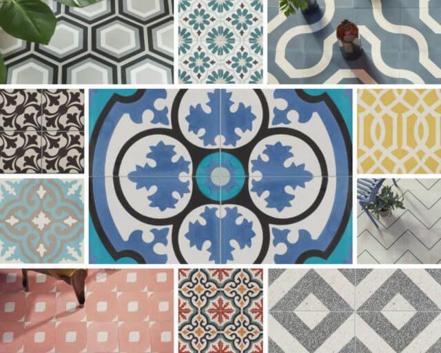 Pattern Tiles Ca pietra