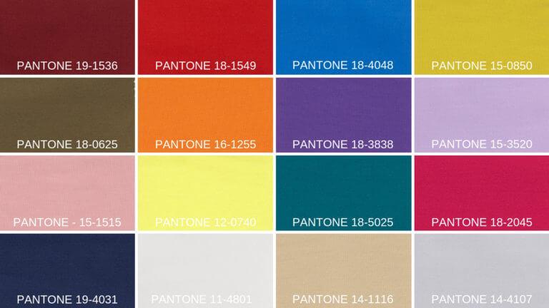 Bathroom Eleven - Pantone colours for Autumn