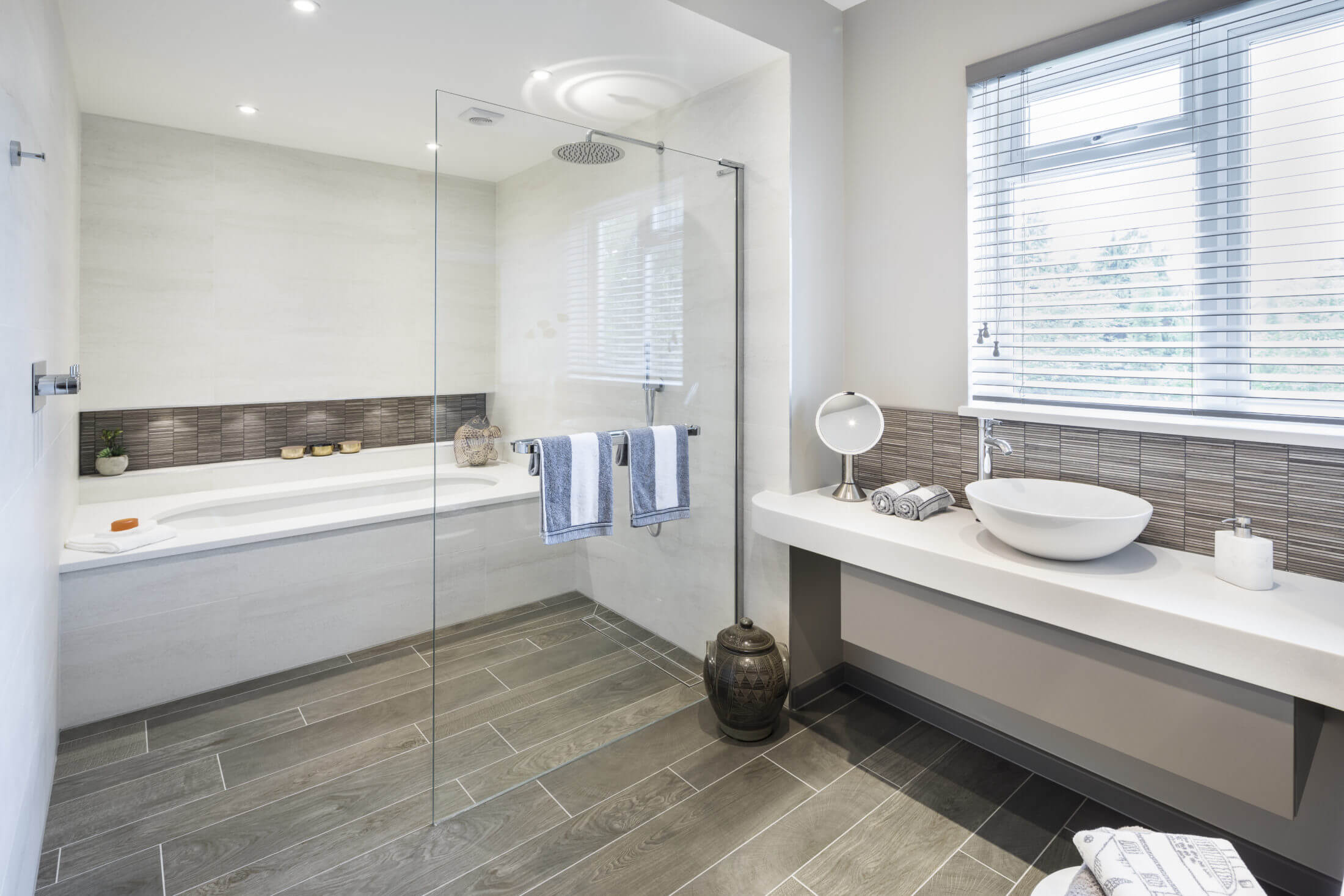 Stylish and Serene Family Bathroom in Long Ditton | Bathroom Eleven