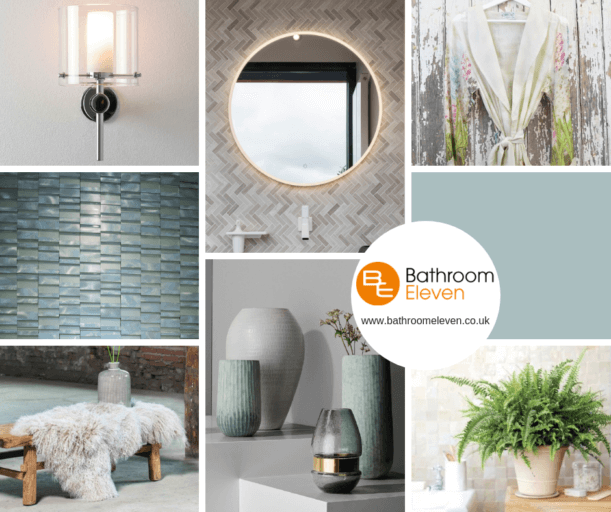 Bathroom Moodboard - for Mindfulness
