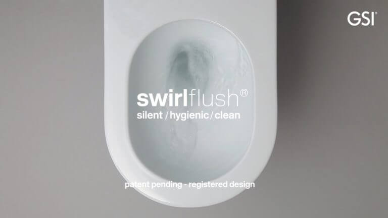 GSI swirl flush technology