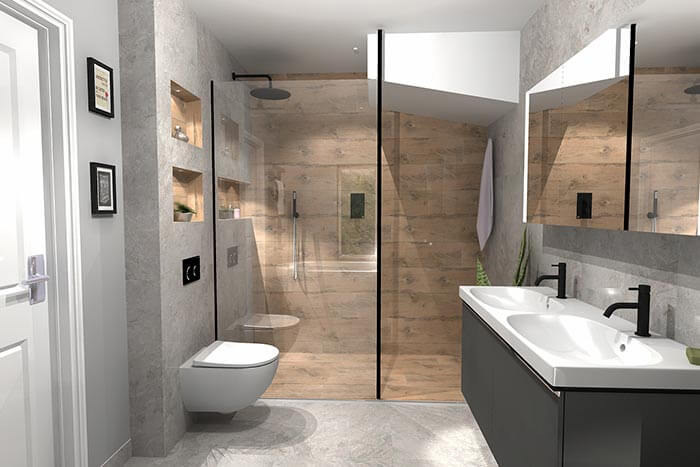 Misselbrook Master En Suite Final Design View 4