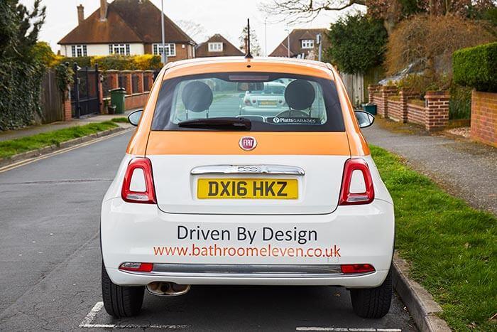 bathroom eleven car site visit