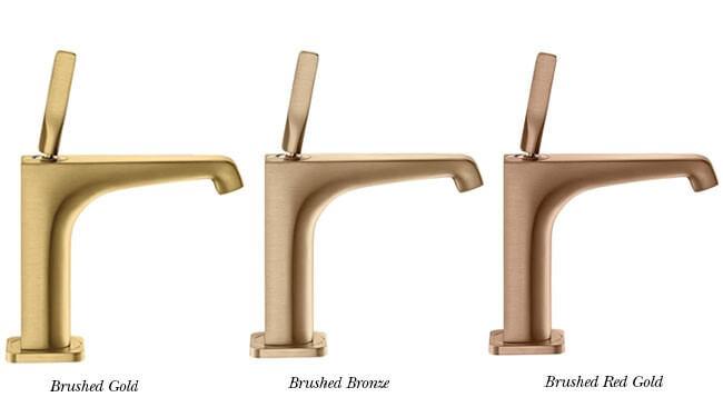 Axor Citterio E basin tap - gold