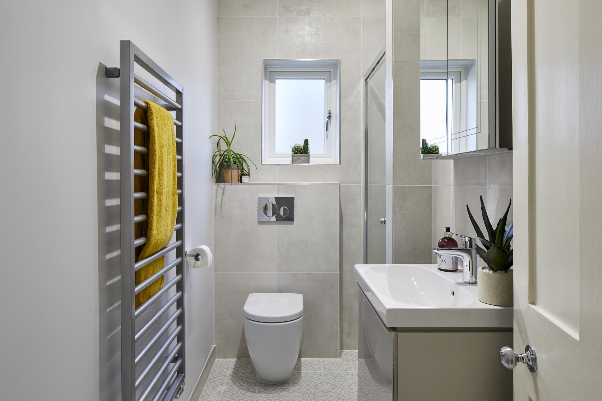 Bathroom Eleven - family shower room in Kingston