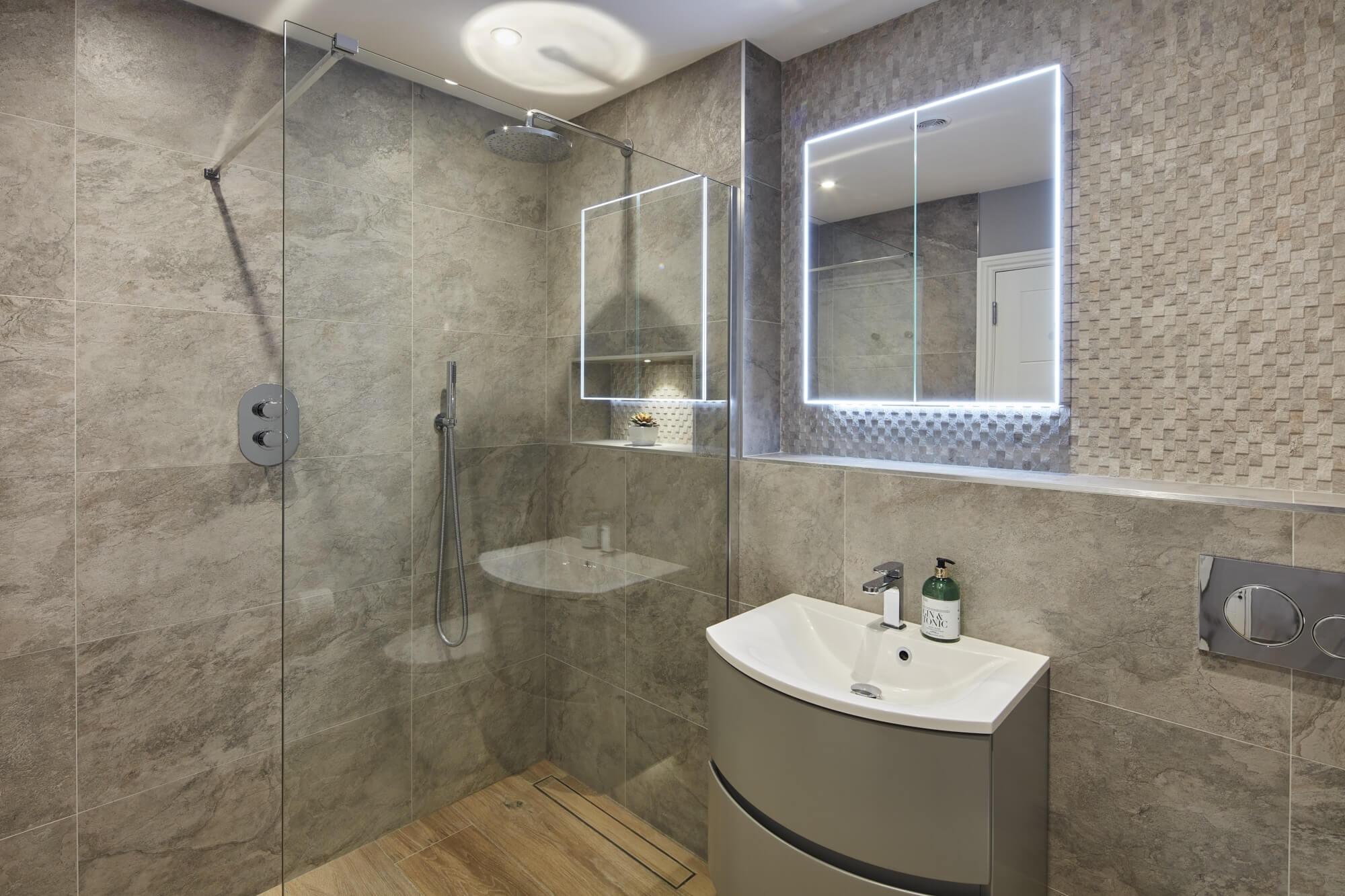 Bathroom Eleven - Guest ensuite wetroom