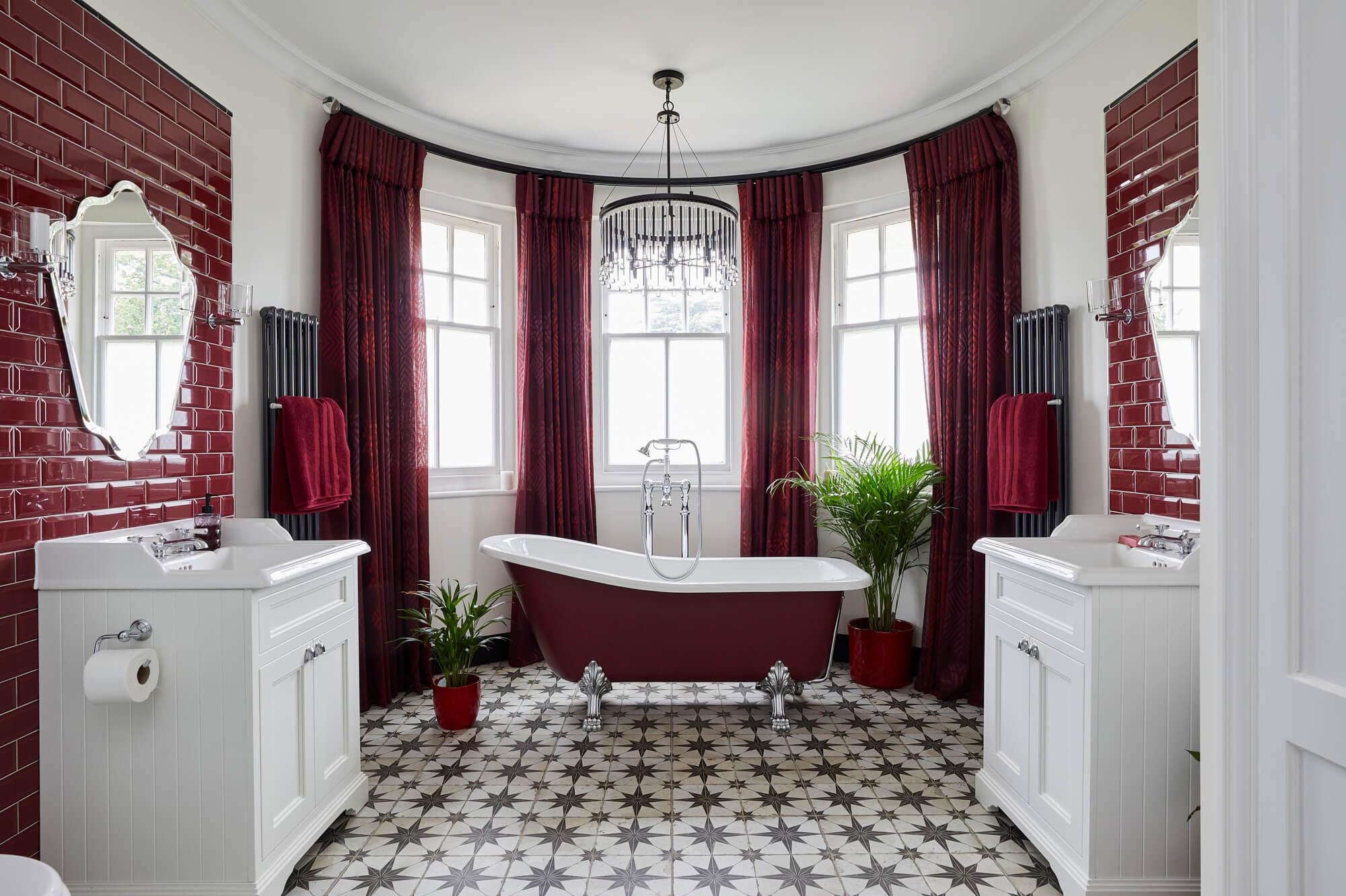 Bathroom Eleven - statement master Ensuite in Surbiton
